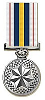 national police medal