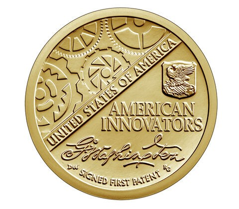 2018 American Innovation Coin Signed First Patent